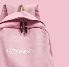 Inspiring image alternativo, cool, cry baby, cute, hipster by LuciaLin - Resolution - Find the image to your taste Pink Tumblr Aesthetic, Aesthetic Colors, Aesthetic Grunge, Aesthetic Pastel Pink, Aesthetic Drawing, Soft Grunge, Pastell Fashion, Melanie Martinez Style, Aesthetic Backpack