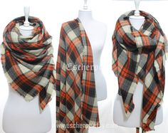 Blanket Scarf Tartan Plaid Cozy Warm Orange Scarf by #escherpe #scarves #scarf #shawl #shawls #wrap #wraps #tartan #plaid #check #summer #trend #spring #women #fashion #accessories #holidays #holiday #christmas #gift #gifts #outfit #accessorize #style #stylish #love #TagsForLikes #me #cute #photooftheday #nails #hair #beauty #beautiful #instagood #instafashion #pretty #girly #pink #model #dress #skirt #shoes #heels #styles #shopping #trend #trending #winter #skull #blanket