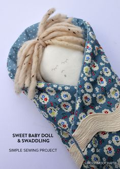 Simple Sewing Project: Baby Doll & Swaddling Wrap