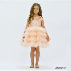 Платье для девочки от 4 до 8 лет GFL-16424P