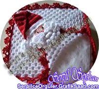 Örgü işleri ve el sanatları: Örgü peçetelik tasarımları Crafts - Knitting Works: Knitting napkin designs