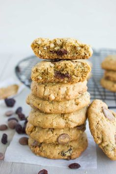 Super Healthy Peanut Butter Chocolate Chip Cookies