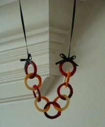 You don't have to be a master with a crochet hook to make the Loopty Loo Crochet Necklace. This crochet jewelry pattern is as fun to make as it is to wear!