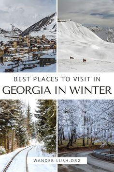 Europe Travel Tips, European Travel, Travel Usa, Beautiful Places To Visit, Cool Places To Visit, Places To Go, Snow In Georgia, Amazing Destinations, Travel Destinations