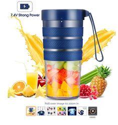 """""""Fruit blender"""" portable fruit blenders Fruit And Vegetable Juicer, Fruit Juicer, Fruit Blender, Smoothie Blender, Best Smoothie Recipes, Good Smoothies, Best Fruit Juice, Travel Blender, Manual Juicer"""