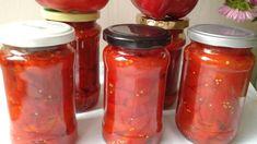 Reteta culinara Gogosari in sos de rosii din categoria Conserve. Specific Romania. Cum sa faci Gogosari in sos de rosii