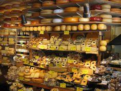 Amsterdam cheese shop, 2006
