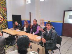 Comité directivo en Reunión con la Directora del Instituto Municipal de la Mujer, compañeras y compañeros sindicalizados, tratando temas hostigamiento laboral.
