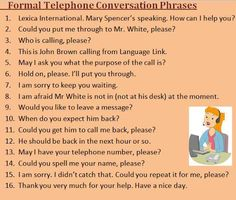 13 Best Telephone conversation images in 2018 | English classroom