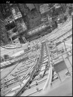 Hoover Dam Construction, Boulder City, Lake Mead, Colorado River, Aerial View, Bouldering, Railroad Tracks, Nevada, Las Vegas