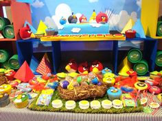 this angry birds birthday party