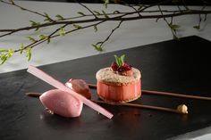 A Recipe by Georges Wenger  Grand Chef Relais & Châteaux, Georges Wenger gives you a delicious recipe for his Japonais à la rhubarbe et aux fraises