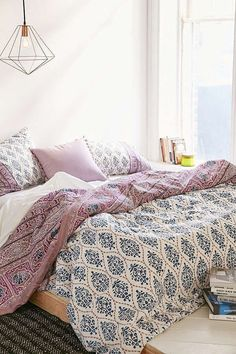 Urban Outfitters Plum & Bow Sofia Block Duvet Cover