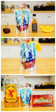 Capri Sun cocktails are the summer beverage you've been waiting for your whole life
