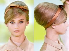 Louis Vuitton 2013 #headband #bow