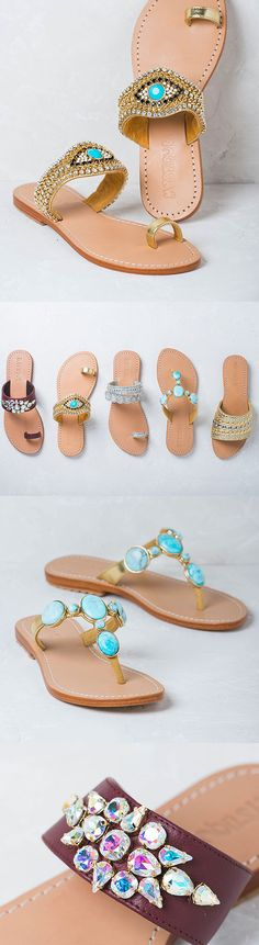Let this be your most stylish summer yet. Shop all Accessories at 25% off with code TWENTYFIVE. Find designers like Mystique Sandals, Lizzie Fortunate, Eugenia Kim, Shwood, Gas Bijoux, and more! Walk In My Shoes, Me Too Shoes, Mystique Sandals, Simple Sandals, Bridal Sandals, Beautiful Sandals, Jeweled Sandals, Shoe Game, Fashion Shoes