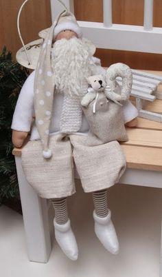 .Papa Noel en blanco