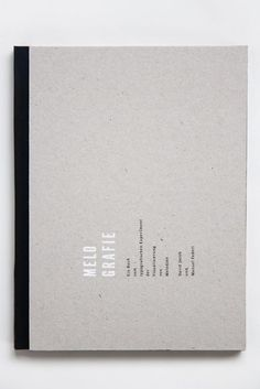 Clean Minimalist Typography // White Ink Overprint