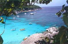 Koh Samet, Thailand.  Plenty of Beautiful beaches and awesome food!