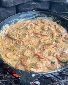 Grilled Shrimp Recipes, Shrimp Recipes Easy, Baked Chicken Recipes, Salmon Recipes, Fish Recipes, Seafood Recipes, Shrimp Sauce Recipe Easy, Bourbon Cream Sauce Recipe, Cream Sauce Recipes