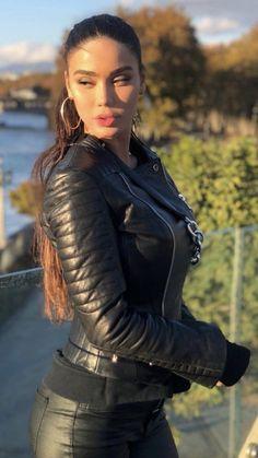 Ideas Clothes Black Fashion Leather Jackets For 2019 Leather Jacket Outfits, Leather Pants, Leather Jackets, Leather Catsuit, Leather Jumpsuit, Leather And Lace, Black Leather, Biker Chic, Leather Fashion