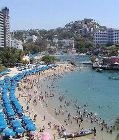 Playa Caleta en Acapulco