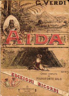 Spartito-Aida Giuseppe Verdi #TuscanyAgriturismoGiratola