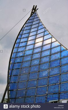 The Solar Sail Is Located In The Grounds Of Muensingen Psychiatric Stock Photo, Royalty Free Image: 65045759 - Alamy