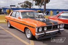 The Ford Nationals held on May at Calder Park Show and shine + Drags Australian Muscle Cars, Aussie Muscle Cars, Ford Falcon, Hot Rides, Top Cars, Custom Vans, Ford Gt, Motor Car, Man Cave