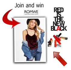 """""""NEW Romwe contest"""" by beenabloss ❤ liked on Polyvore"""