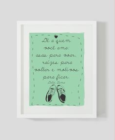 poster decorativo frases
