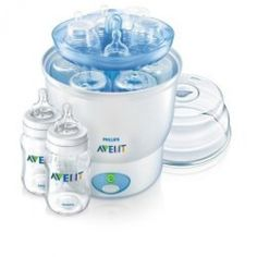 The best baby bottle sterilizer for you will depend on your needs and preference. There are several choices of sterilize and ways to sterilize your pumping equipment or bottles. Firstly, microwave sterilizers. These are containers in which you fit...