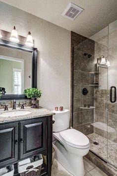 Half Bathroom Remodel, Shower Remodel, Bathroom Makeovers, Bathroom Renovations, Restroom Remodel, Tub Remodel, House Remodeling, Bathroom Design Small, Bathroom Layout