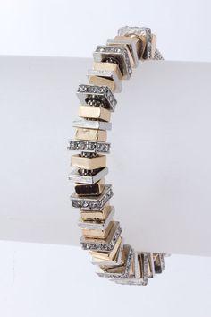 Golden Maddox Charm Bracelet on Emma Stine Limited   Gorgeous!