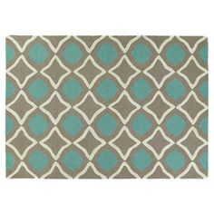 Check out this item at One Kings Lane! Fria Rug, Light Brown