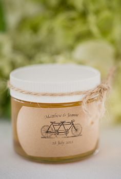 Honey Jar Favor