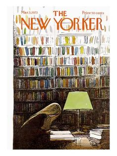 The New Yorker Cover - March 3, 1973 Premium Giclee Print