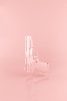 """Pink Gun"" by Zurbi Created with 3DSMax // Get social with @crushingonpink on Instagram <3"