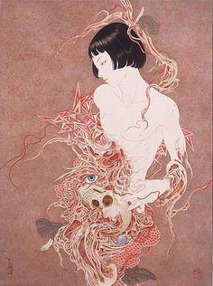 Takato Yamamoto,Necrophantasmagoria, Image via lesleyann.com.au