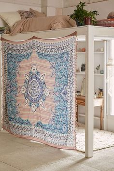 Plum and Bow Estelle Medallion Tapestry  UrbanOutfitters.com: Awesome stuff for you & your space
