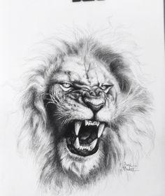 Tiger Tattoo Design, Tattoo Design Drawings, Tattoo Designs, Leo Lion Tattoos, Mens Lion Tattoo, Roaring Lion Tattoo, Roaring Lion Drawing, Lip Print Tattoos, Logo Lion