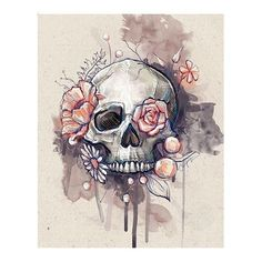 don't mind the skull in this one at all! Love this idea for a thigh tattoo I don't mind the skull in this one at all! Love this idea for a thigh tattoo.I don't mind the skull in this one at all! Love this idea for a thigh tattoo. Tattoo Website, Tattoo Muster, Totenkopf Tattoos, Desenho Tattoo, Flower Skull, Skull Tattoo Flowers, Floral Skull Tattoos, Tribal Tattoos, Feminine Skull Tattoos