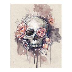 don't mind the skull in this one at all! Love this idea for a thigh tattoo I don't mind the skull in this one at all! Love this idea for a thigh tattoo.I don't mind the skull in this one at all! Love this idea for a thigh tattoo. Tattoo Website, Tattoo Muster, Totenkopf Tattoos, Desenho Tattoo, Ouvrages D'art, Flower Skull, Skull Tattoo Flowers, Floral Skull Tattoos, Tribal Tattoos