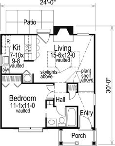 Cabin Colonial Cottage Country Ranch House Plan 86955 Level One Colonial Cottage, Cottage Style House Plans, Ranch House Plans, Cottage House Plans, Country House Plans, Cottage Homes, House Floor Plans, Cottage Ideas, House Plans And More