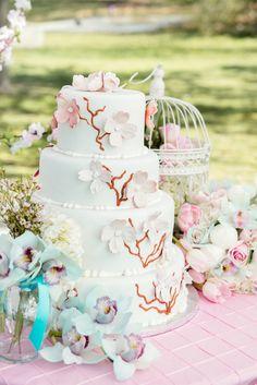 Lana & James' Beautiful Cherry Blossoms Style Shoot http://justbridalbeauty.com/real-life/styled-shoot/beautiful-cherry-blossoms-style-shoot/