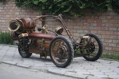 Steampunk Trike :: Gadgetify.com