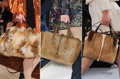 Fall/ Winter 2014-2015 Handbag Trends: Fur Bags