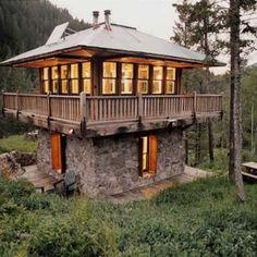375 sq ft Rural Cabin