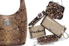 Animal print is in this fall.  Brighton has a great selection to choose from.