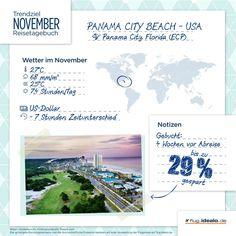 Trendreiseziel Panama City Beach in #Florida. Günstige Flüge finden: http://flug.idealo.de/